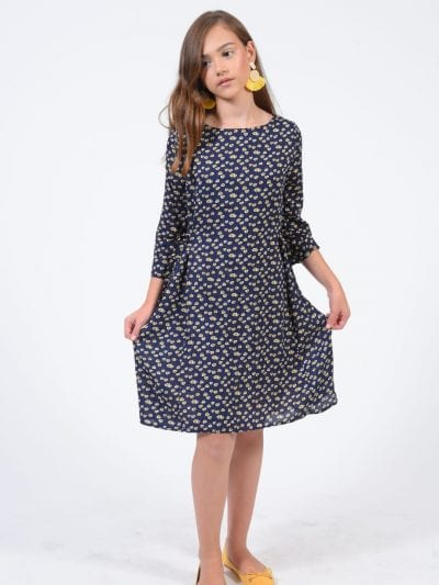 שמלת רומי כחול נייבי