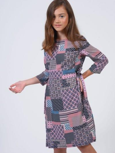 שמלת רומי ורוד עיתון