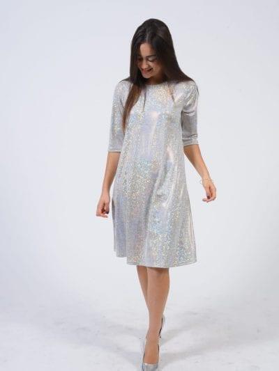 שמלת נאון נצנץ אלגנט