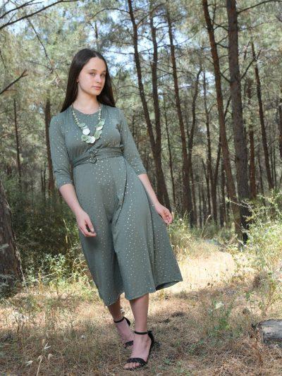 אמה ירוק זית
